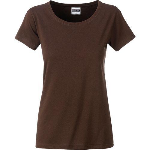 T-shirt bio Femme - marron