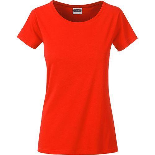 T-shirt bio Femme - grenadine