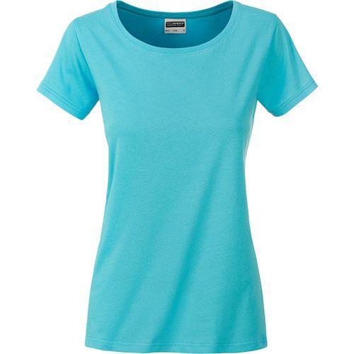 T-shirt bio Femme - bleu pacifique