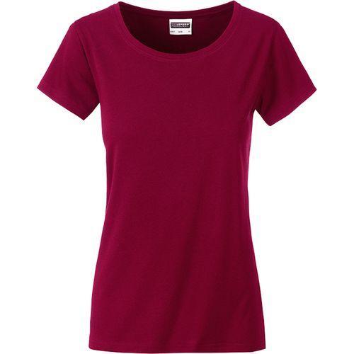 T-shirt bio Femme - lie de vin