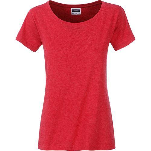 T-shirt bio Femme - rouge carmin mélangé