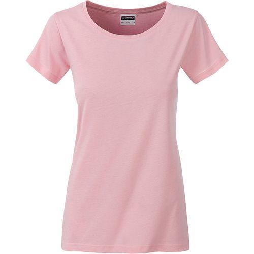 T-shirt bio Femme - rose pastel