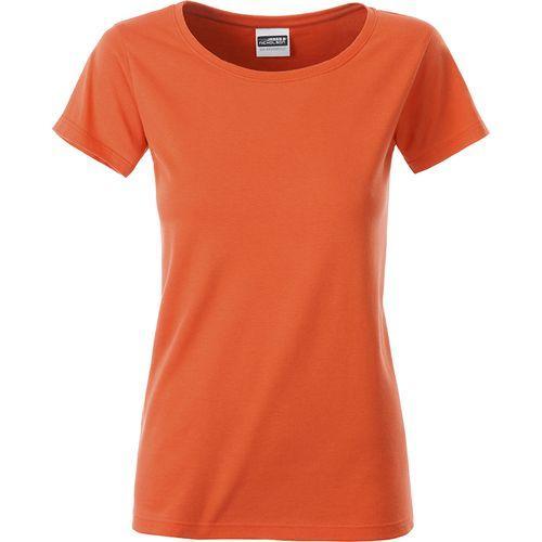T-shirt bio Femme - corail