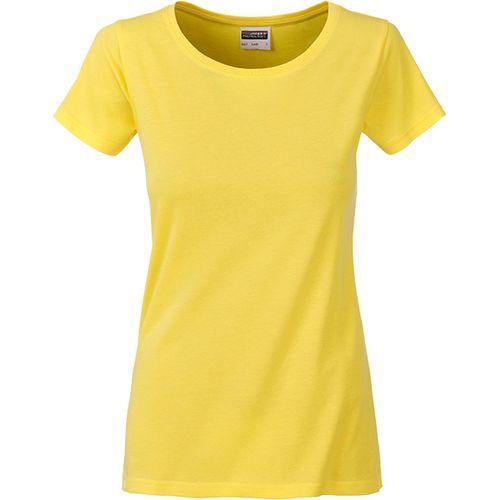 T-shirt bio Femme - jaune