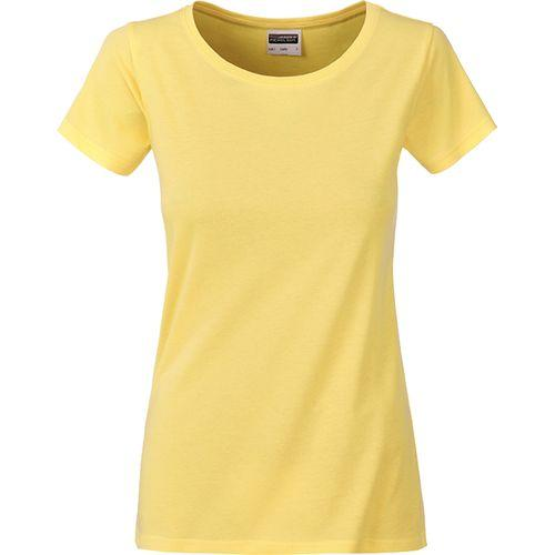 T-shirt bio Femme - jaune clair
