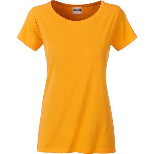 T-shirt bio Femme - jaune doré