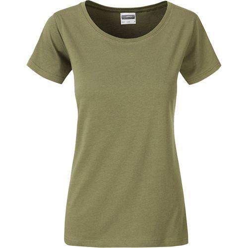 T-shirt bio Femme - kaki