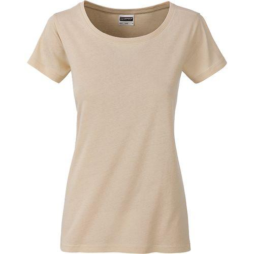T-shirt bio Femme - stone