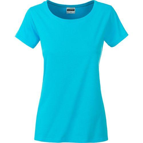 T-shirt bio Femme - turquoise