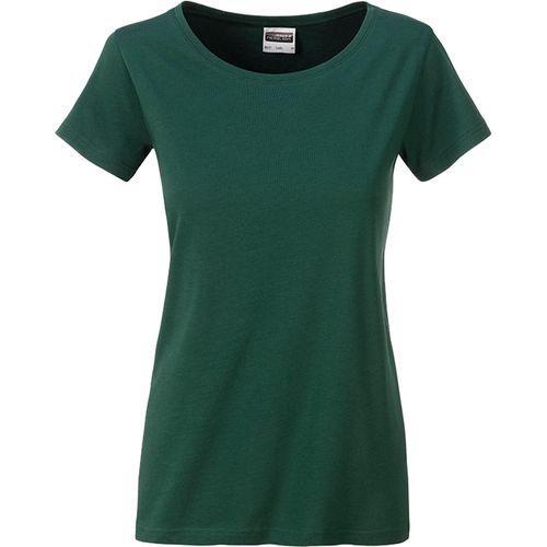 T-shirt bio Femme - vert foncé