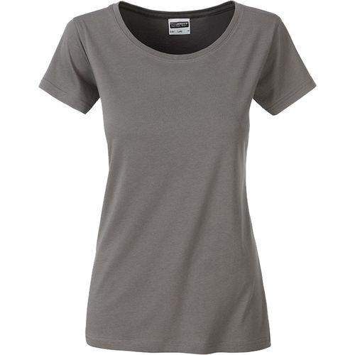 T-shirt bio Femme - gris moyen