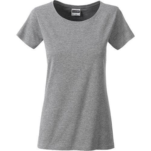 T-shirt bio Femme - gris foncé chiné