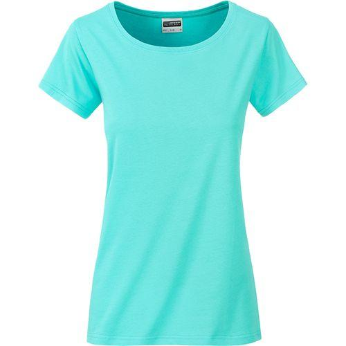 T-shirt bio Femme - vert menthe