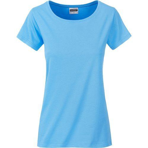 T-shirt bio Femme - bleu ciel