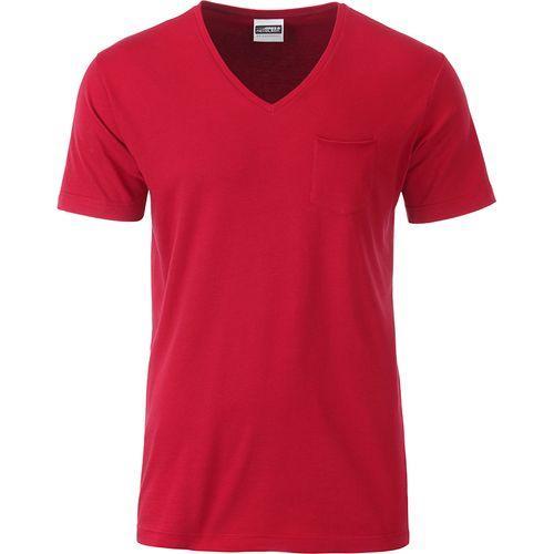 T-shirt bio Homme - rouge