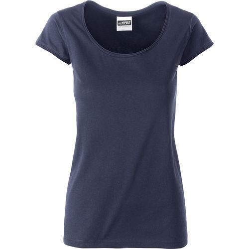 T-shirt bio Femme - bleu marine