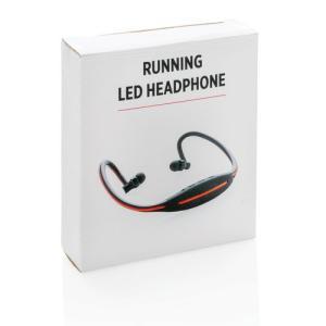 Casque audio avec LED