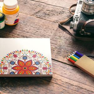 Set coloriage MANDALA