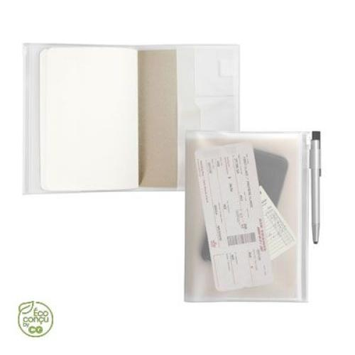 Cahier format A5 EVANITY - transparent