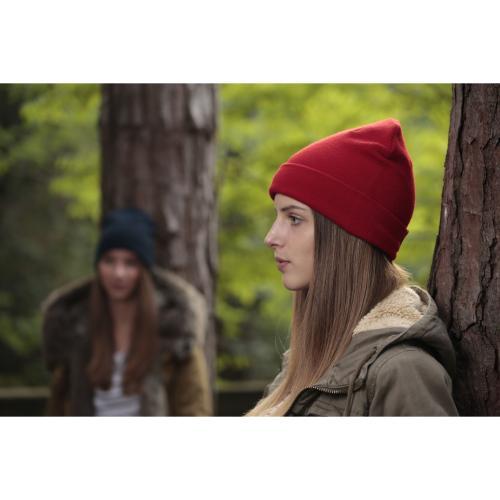 Bonnet organique - rouge