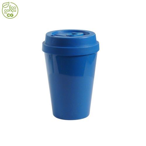 Mug étanche 300 ml DRINKSAF - bleu