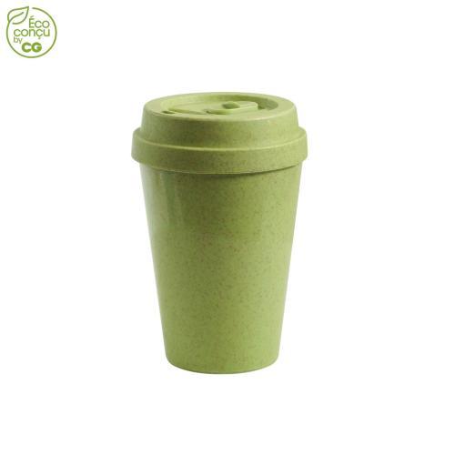 Mug étanche 300 ml DRINKSAF - vert