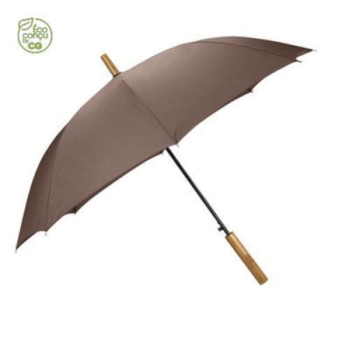 LOCKWOOD - Parapluie mini-golf tempête - marron