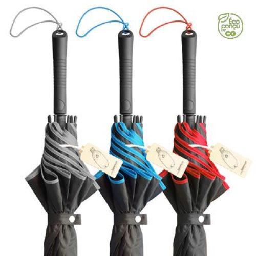 Parapluie golf tempête - RSTORM - rouge
