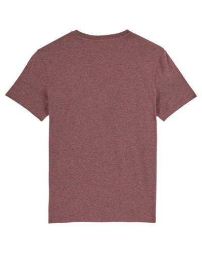 Creator - Le T-shirt iconique unisexe - Black Heather Cranberry