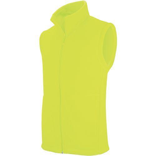 LUCA > GILET MICROPOLAIRE - jaune fluo