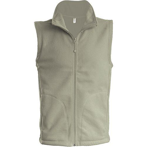 LUCA > GILET MICROPOLAIRE - beige