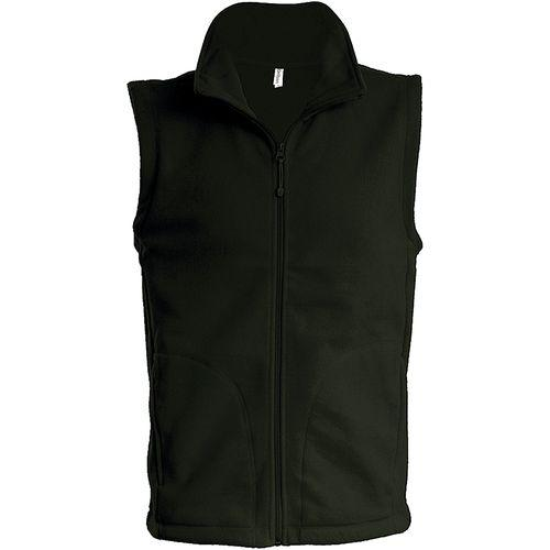 LUCA > GILET MICROPOLAIRE - olive