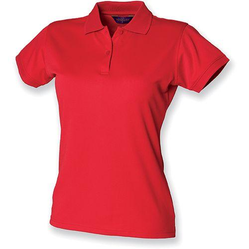 POLO FEMME COOLPLUS - rouge