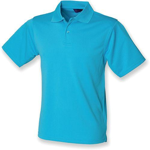 POLO HOMME COOLPLUS - turquoise