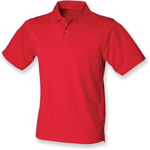 POLO HOMME COOLPLUS - rouge