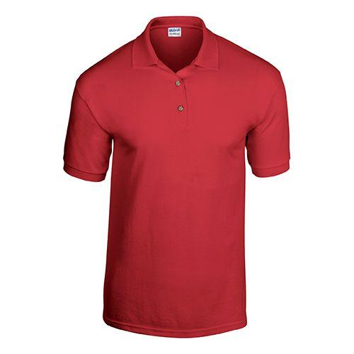 POLO JERSEY DRYBLEND - rouge